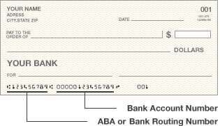 Blank Check Diagram
